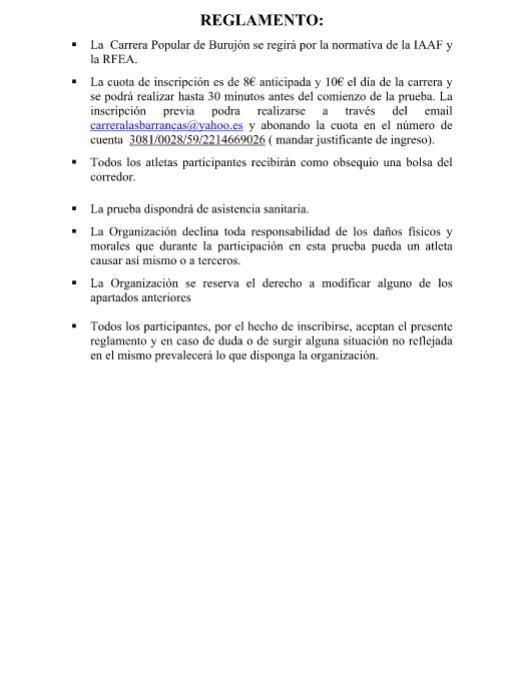 Reglamento - II