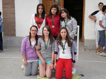 Ganadoras floorball 3x3